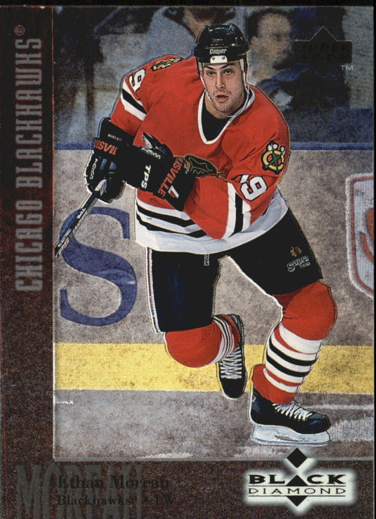 1996-97 Black Diamond #69 Ethan Moreau RC