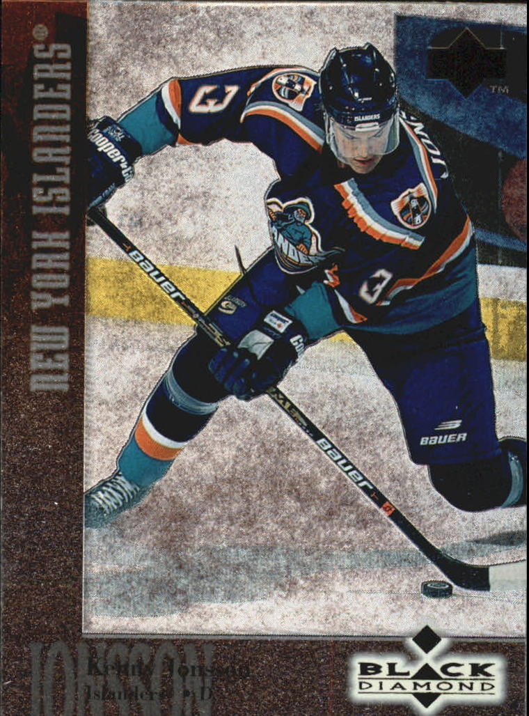 1996-97 Black Diamond #73 Kenny Jonsson