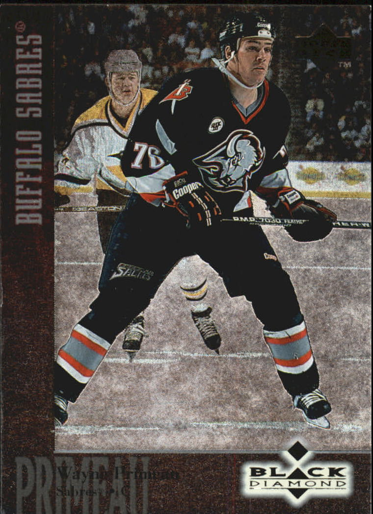 1996-97 Black Diamond #76 Wayne Primeau