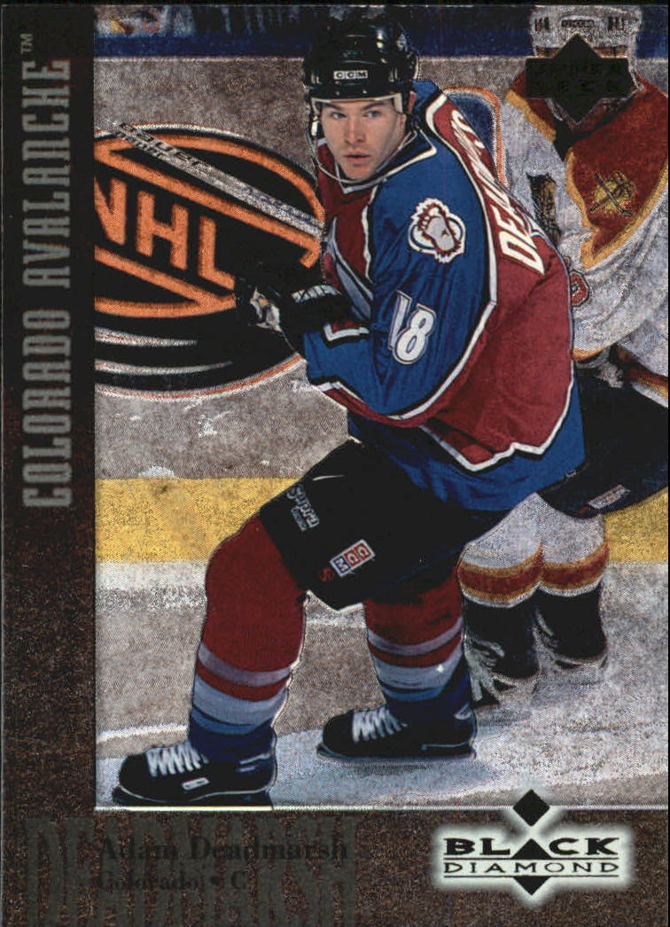 1996-97 Black Diamond #81 Adam Deadmarsh