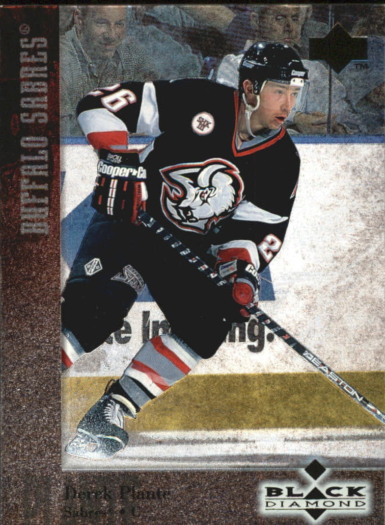 1996-97 Black Diamond #83 Derek Plante