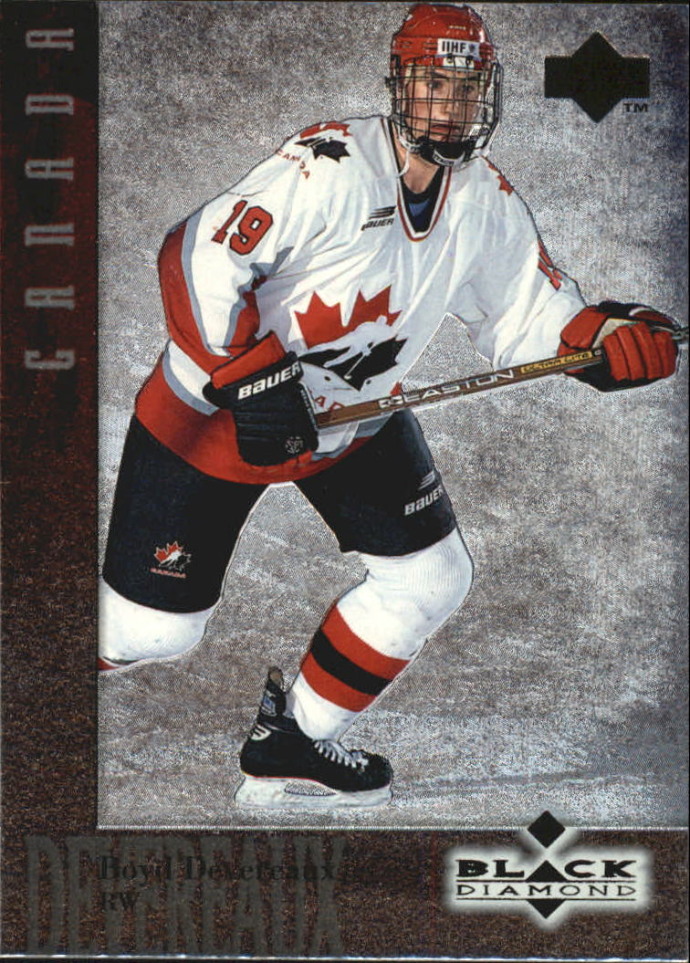 1996-97 Black Diamond #86 Boyd Devereaux RC