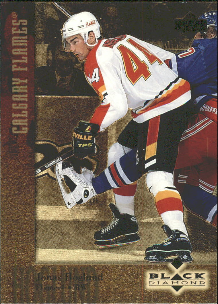 1996-97 Black Diamond Gold #44 Jonas Hoglund