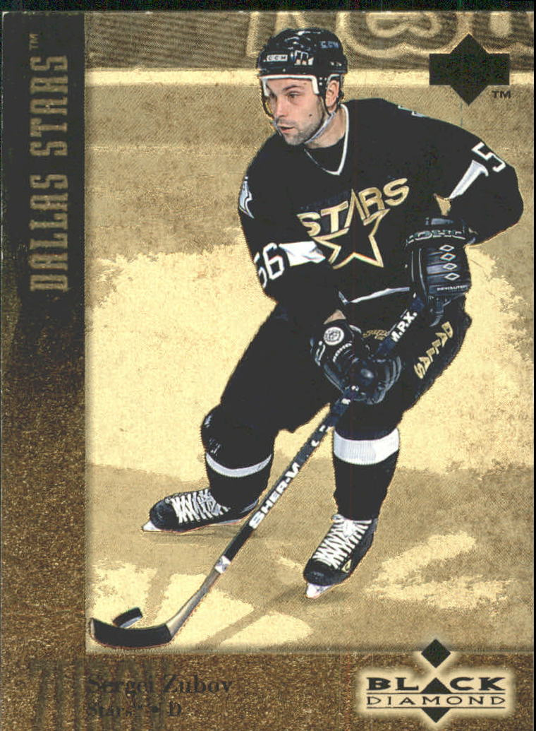 1996-97 Black Diamond Gold #56 Sergei Zubov