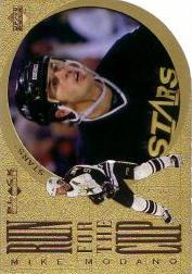 1996-97 Black Diamond Run for the Cup #RC16 Mike Modano