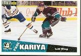 1996-97 Collector's Choice #1 Paul Kariya