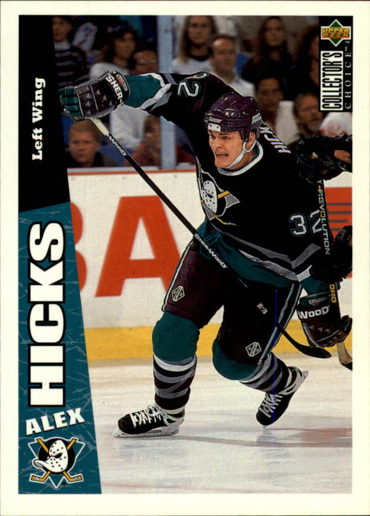 1996-97 Collector's Choice #9 Alex Hicks