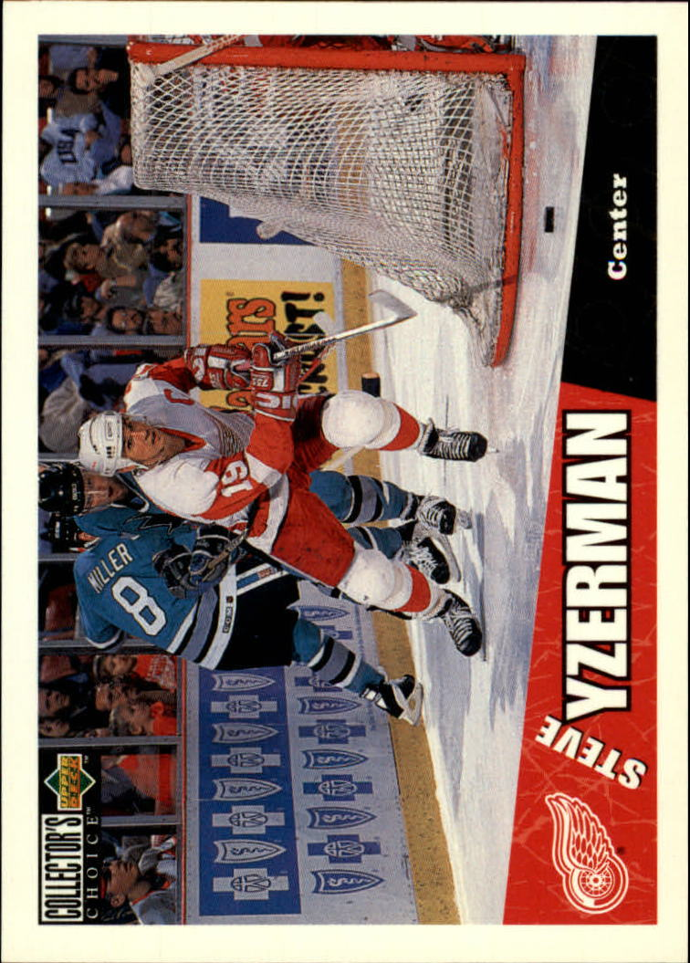 1996-97 Collector's Choice #79 Steve Yzerman