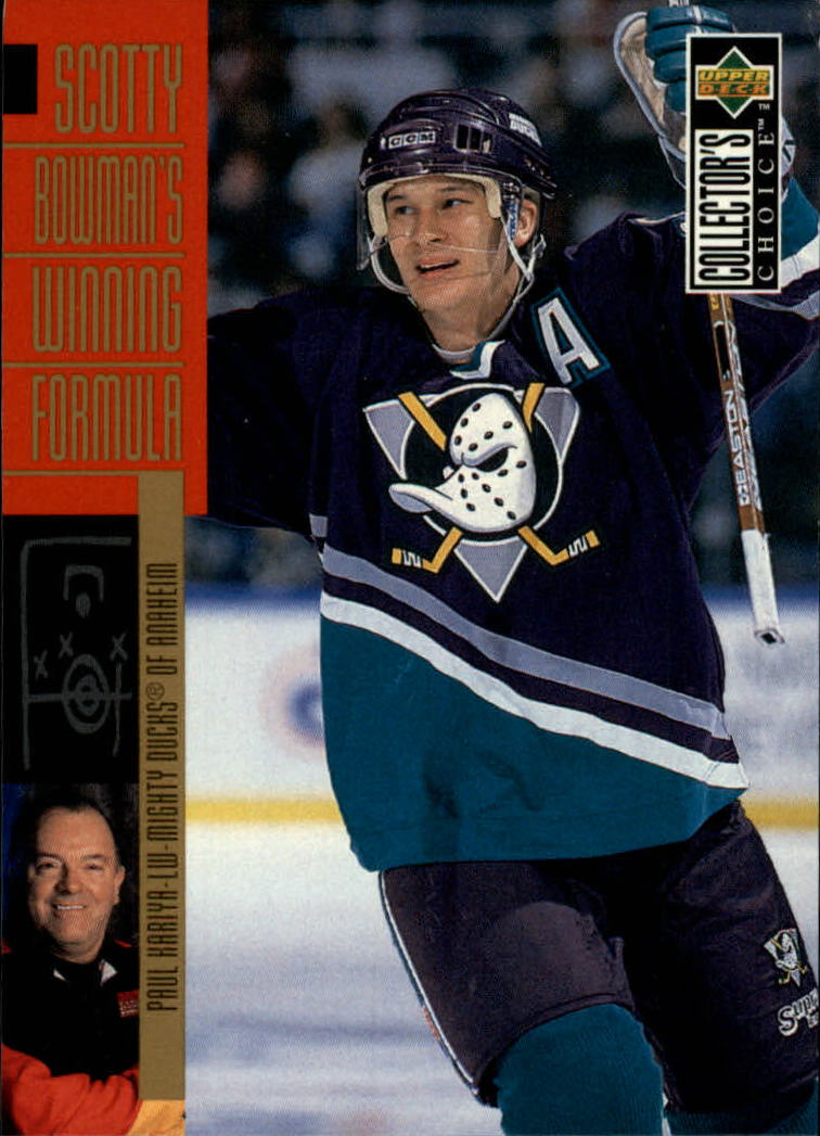 1996-97 Collector's Choice #289 Paul Kariya SB