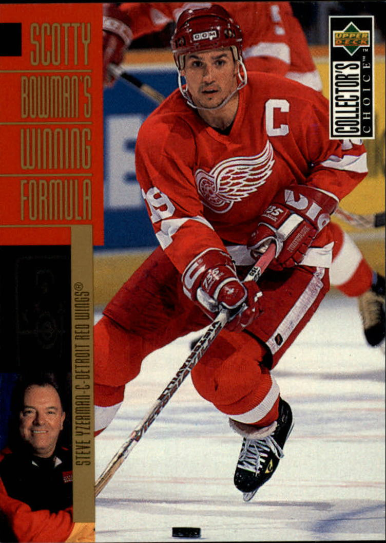 1996-97 Collector's Choice #292 Steve Yzerman SB