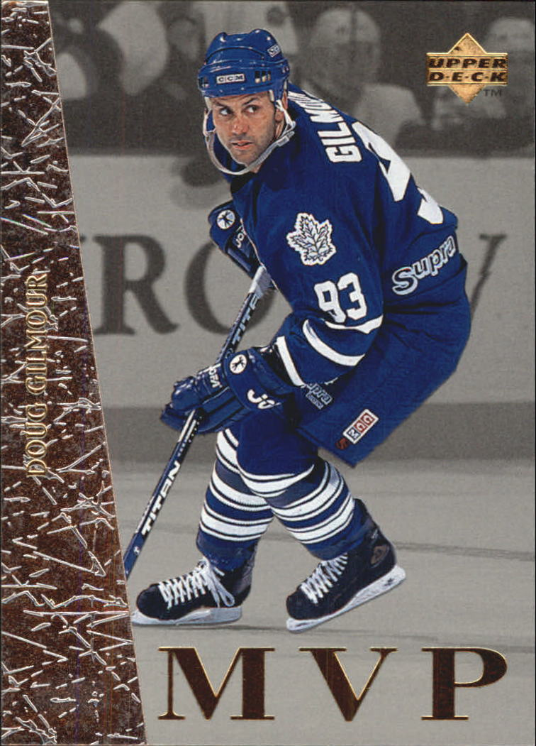 1996-97 Collector's Choice MVP #UD45 Doug Gilmour