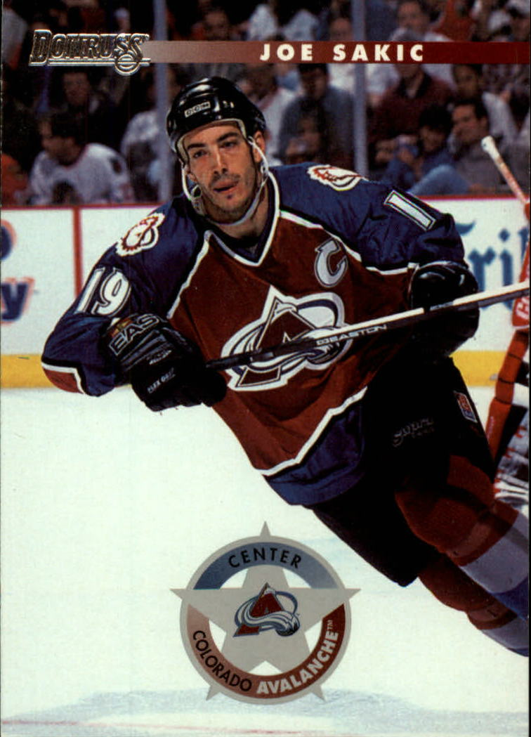 1996-97 Donruss #1 Joe Sakic