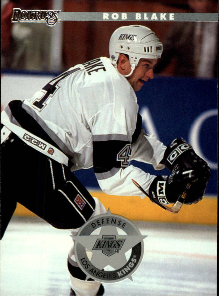 1996-97 Donruss #100 Rob Blake