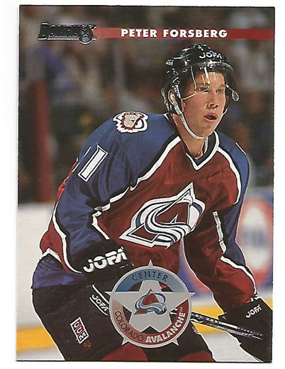 1996-97 Donruss #139 Peter Forsberg