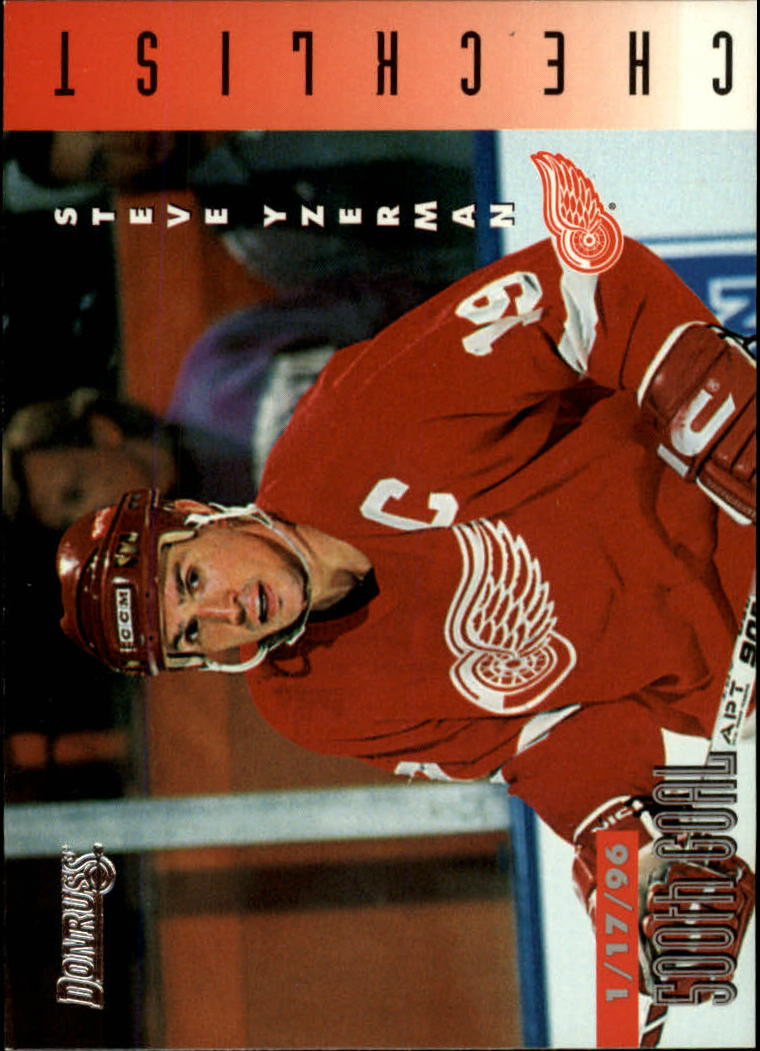 1996-97 Donruss #240 Steve Yzerman CL