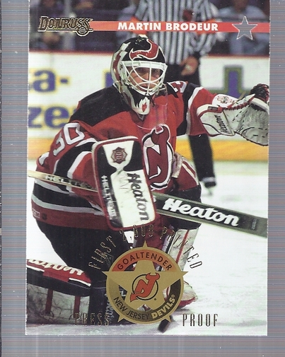 1996-97 Donruss Press Proofs #148 Martin Brodeur