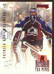 1996-97 Donruss Between the Pipes #1 Patrick Roy