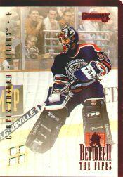 1996-97 Donruss Between the Pipes #8 Curtis Joseph