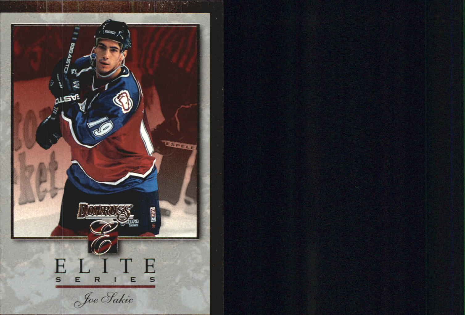 1996-97 Donruss Elite Inserts #7 Joe Sakic
