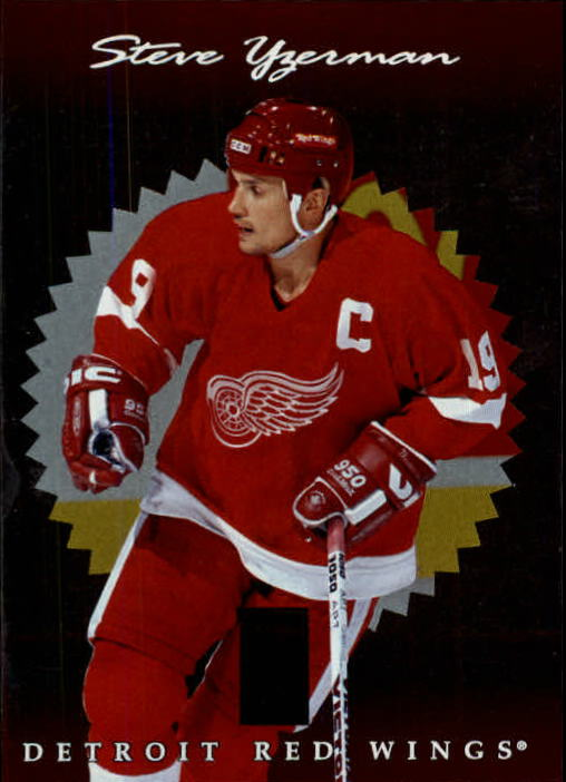 1996-97 Donruss Elite #38 Steve Yzerman