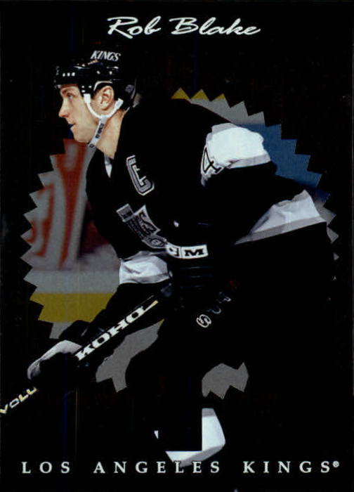 1996-97 Donruss Elite #48 Rob Blake