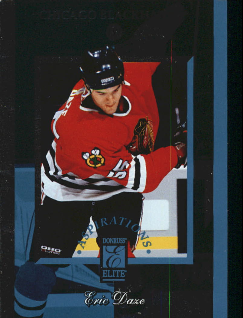 1996-97 Donruss Elite Aspirations #1 Eric Daze