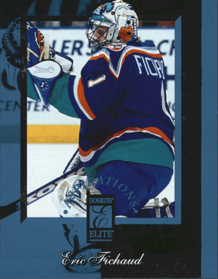 1996-97 Donruss Elite Aspirations #14 Eric Fichaud