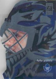 1996-97 Donruss Elite Painted Warriors #6 Felix Potvin