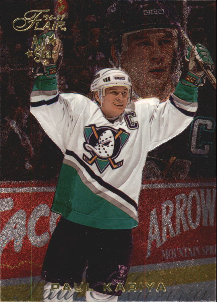 1996-97 Flair #2 Paul Kariya
