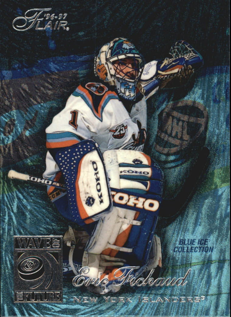 1996-97 Flair Blue Ice #B115 Eric Fichaud