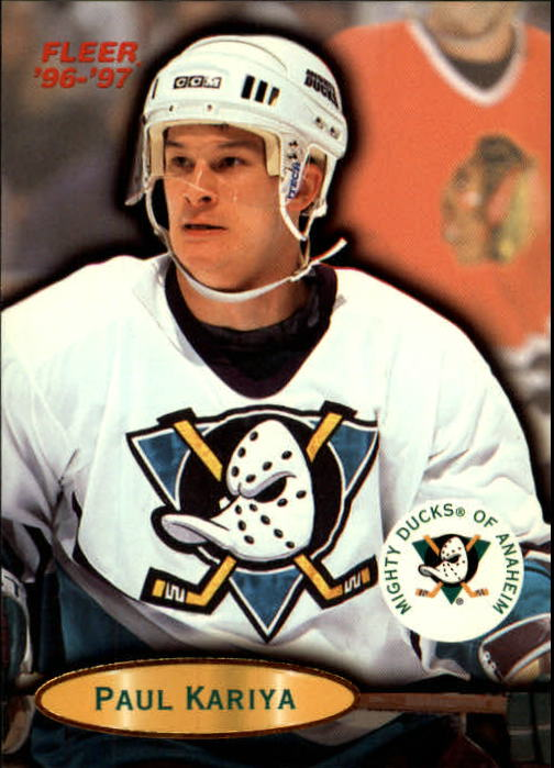 1996-97 Fleer #2 Paul Kariya