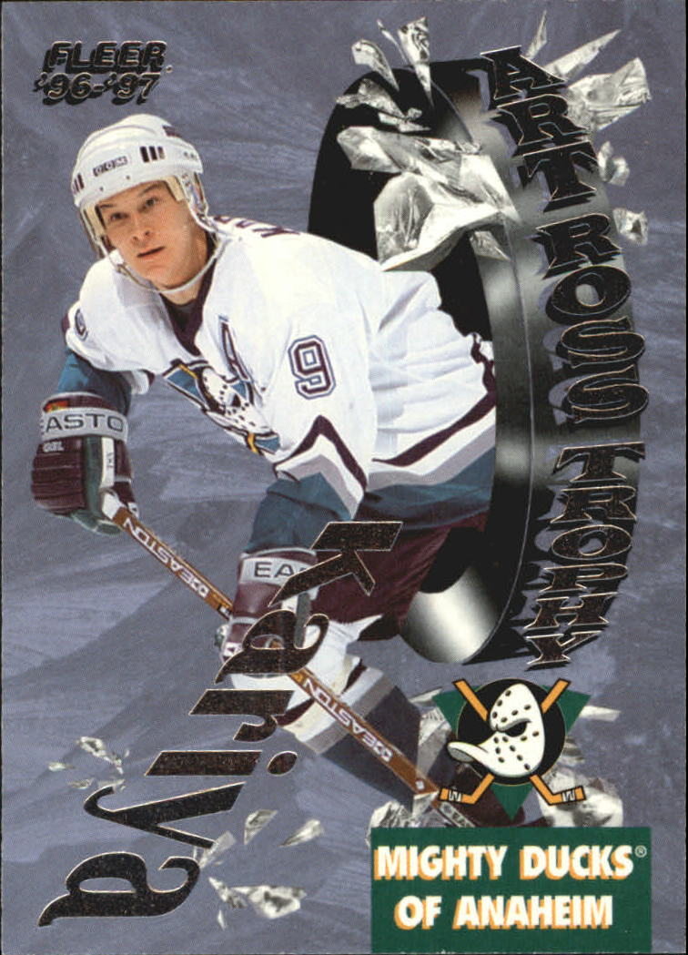 1996-97 Fleer Art Ross #10 Paul Kariya
