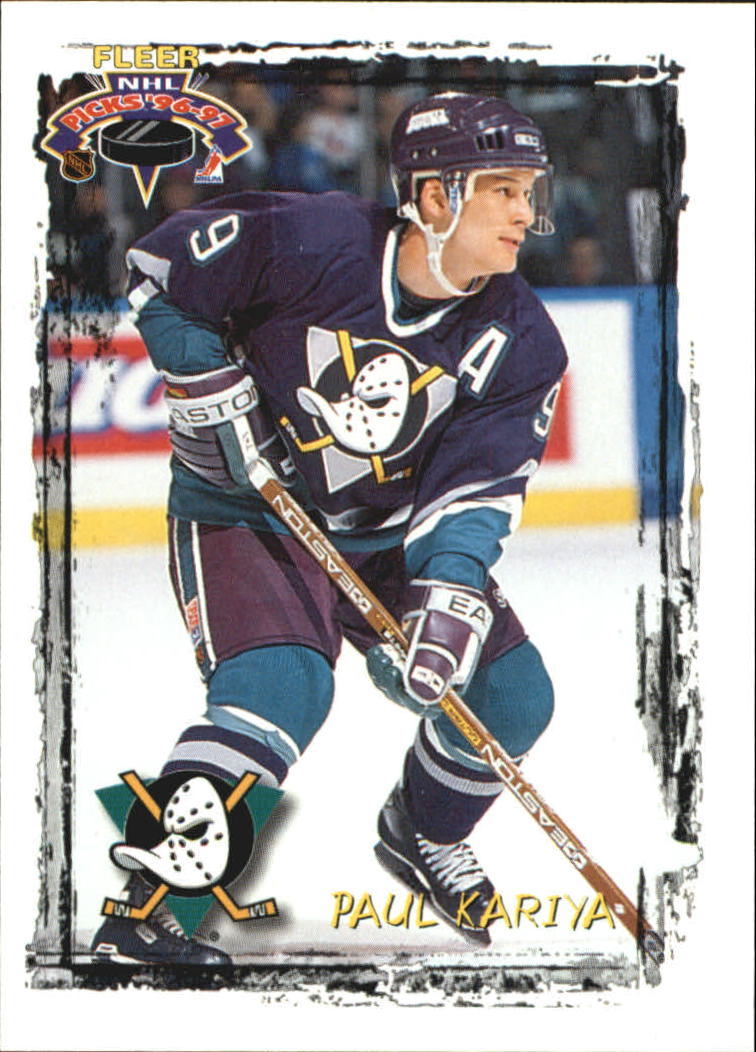 1996-97 Fleer Picks #6 Paul Kariya