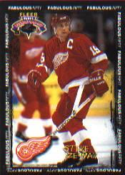 1996-97 Fleer Picks Fabulous 50 #49 Steve Yzerman