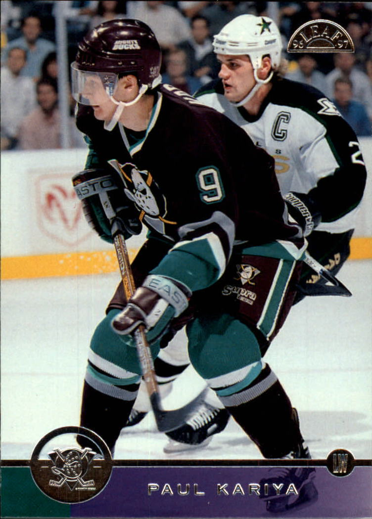 1996-97 Leaf #176 Paul Kariya