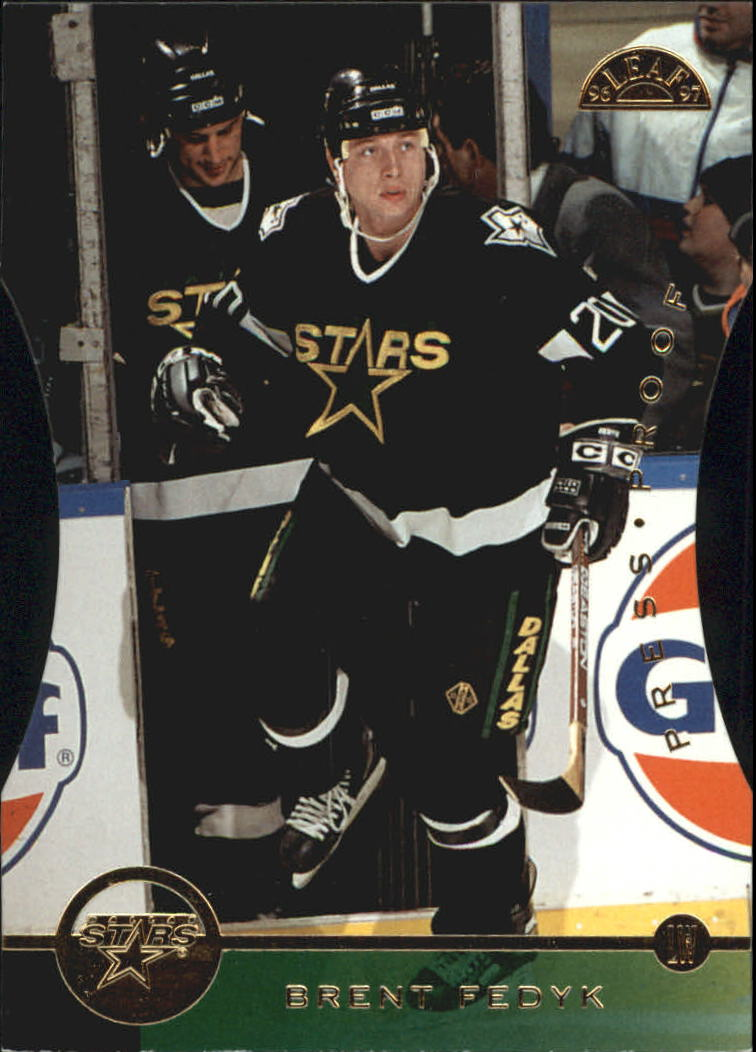 1996-97 Leaf Press Proofs #82 Brent Fedyk