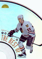 1996-97 Leaf The Best Of #2 Eric Daze