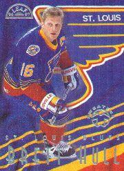 1996-97 Leaf Sweaters Away #12 Brett Hull