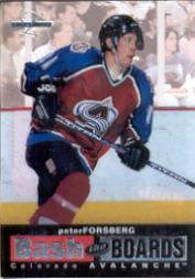 1996-97 Leaf Limited Bash The Boards #8 Peter Forsberg