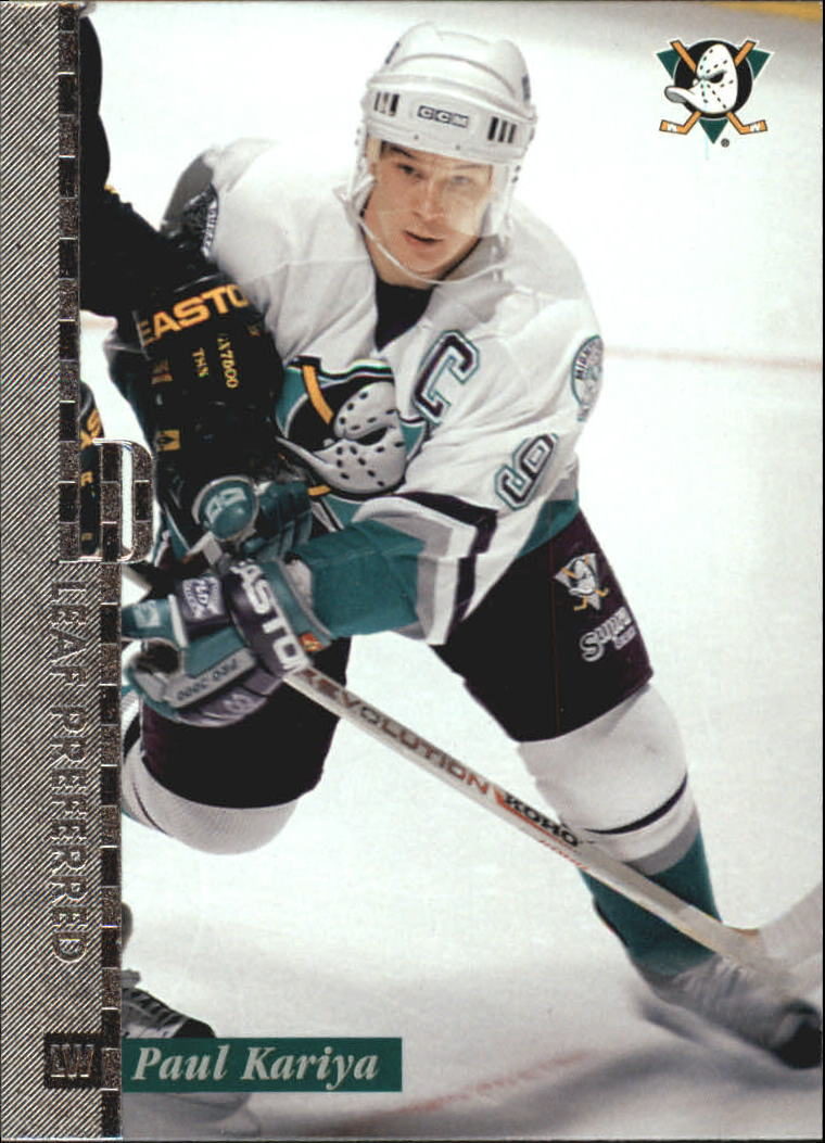 1996-97 Leaf Preferred #7 Paul Kariya