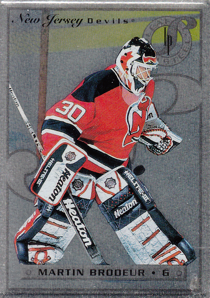 1996-97 Leaf Preferred Steel #2 Martin Brodeur