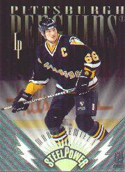 1996-97 Leaf Preferred Steel Power #2 Mario Lemieux