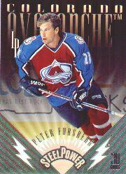 1996-97 Leaf Preferred Steel Power #6 Peter Forsberg