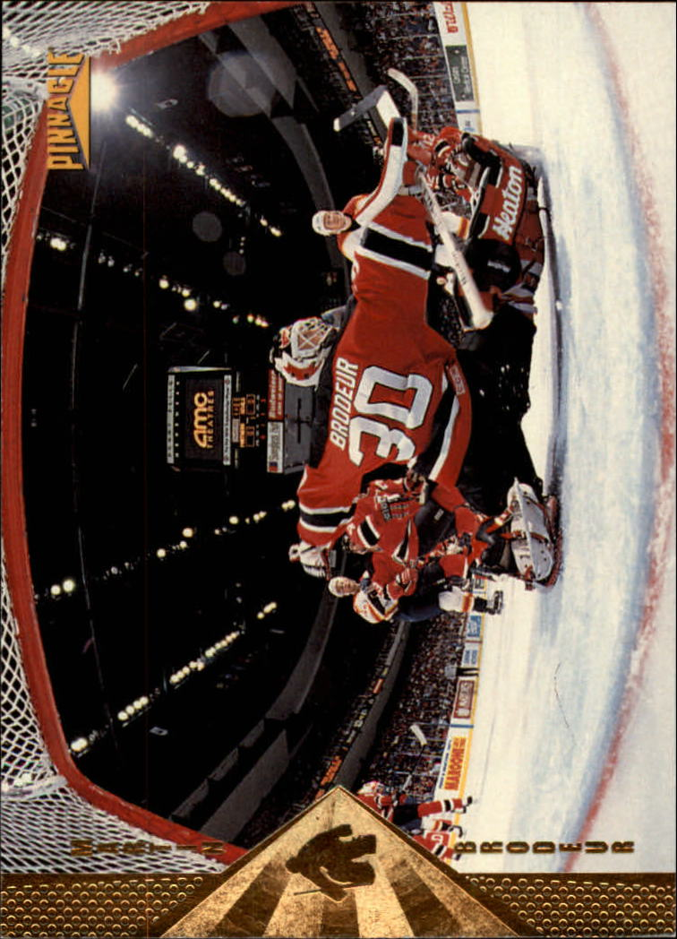 1996-97 Pinnacle #92 Martin Brodeur