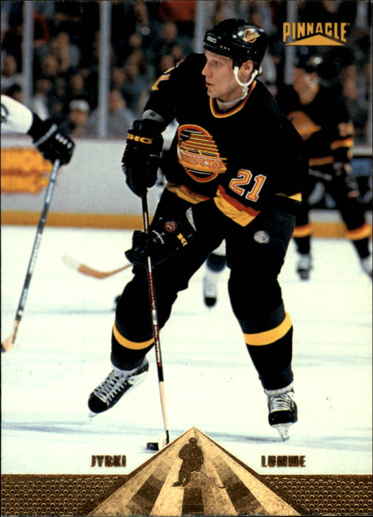 1996-97 Pinnacle #185 Jyrki Lumme front image
