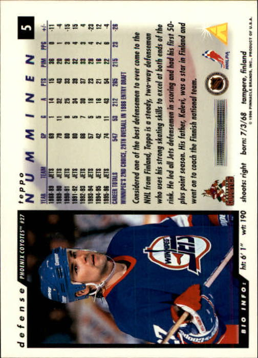 1996-97-Score-Hockey-Cards-Pick-From-List thumbnail 9