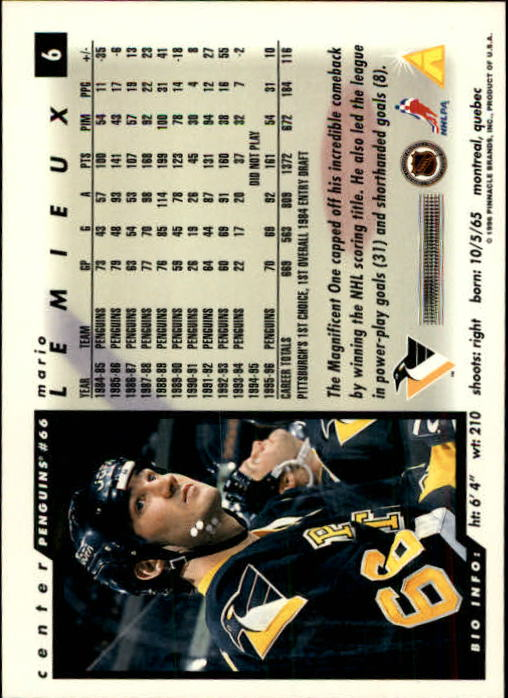 1996-97-Score-Hockey-Cards-Pick-From-List thumbnail 11