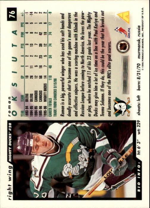 1996-97-Score-Hockey-Cards-Pick-From-List thumbnail 117