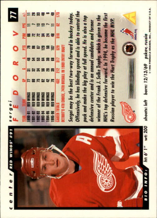 1996-97-Score-Hockey-Cards-Pick-From-List thumbnail 119