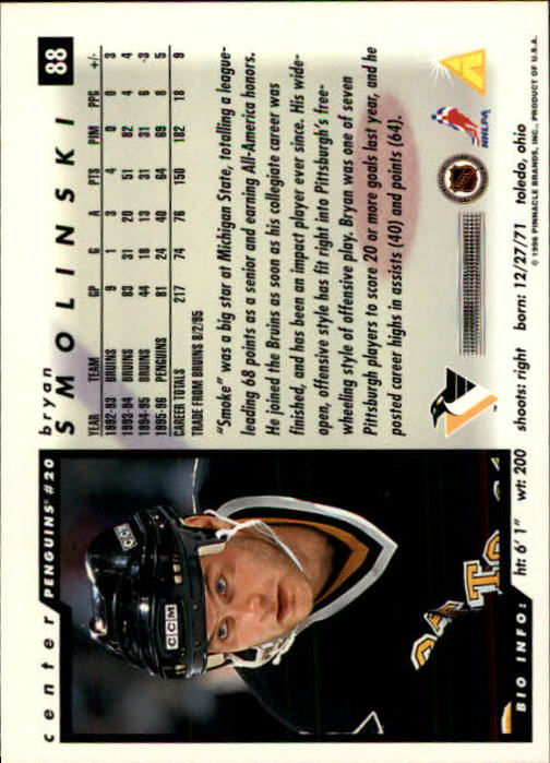 1996-97-Score-Hockey-Cards-Pick-From-List thumbnail 139